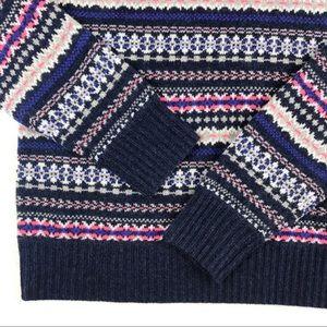 J. Crew Sweaters - NWOT J. Crew Fair Isle Turtleneck Sweater